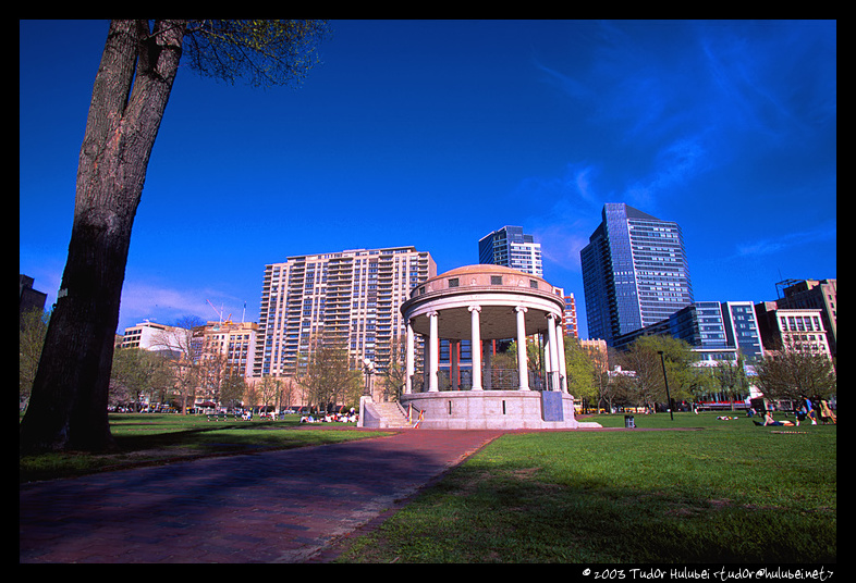 Tudor Hulubei » Photography » View of Boston Common, Boston, MA, USA: hulubei.net/tudor/photography/B/o/Boston-Common-1/Boston-Common-1-3...