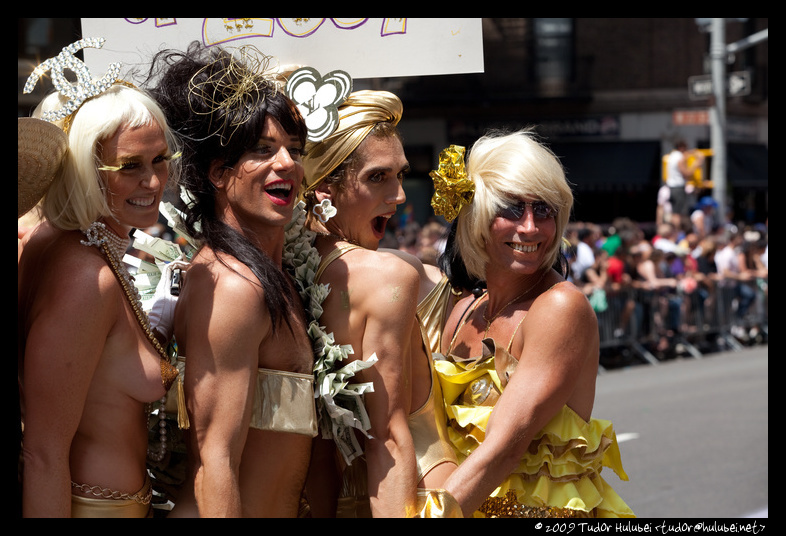 Gay pride june 2009