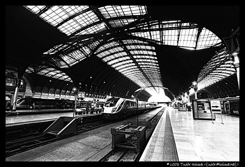 Inside Paddington Station, London, UK; (Click for next photo)